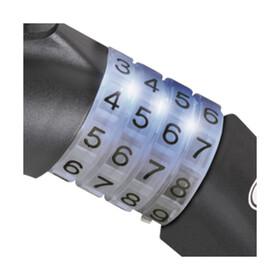 ABUS Raydo Pro 1450/185 Spiralkabelschloss TexKF schwarz